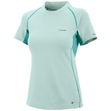 Columbia Insect Blocker® Sporty T-Shirt - UPF 50, Short Sleeve (For Women) in Wind - Closeouts