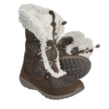 Columbia Sporstwear EZ Does It Winter Boots - Insulated (For Women) in Cordovan - Closeouts