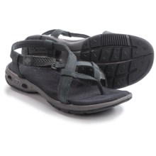 Columbia Sportswear Abaco Vent Sandals - Nubuck (For Women) in Shark/Quarry - Closeouts