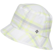 Columbia Sportswear Adult Bucket Hat (For Men and Women) in Fossil Plaid - Closeouts