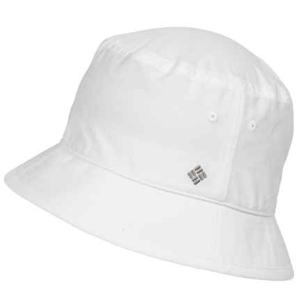 Columbia Sportswear Adult Bucket Hat (For Men and Women) in White - Closeouts