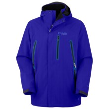 Columbia Sportswear Aerial Arson Omni-Heat® Shell Jacket - Waterproof (For Men) in Dynasty Slub - Closeouts