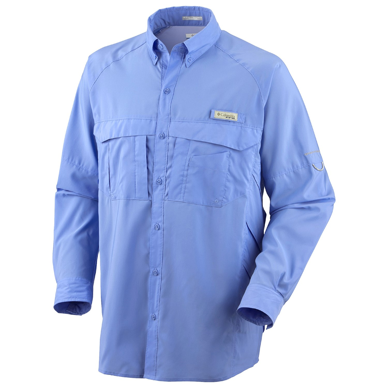Columbia Sportswear Airgill Woven Fishing Shirt Upf 50