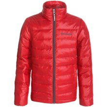 Columbia Sportswear Airspace Down Jacket (For Little and Big Kids) in Bright Red - Closeouts