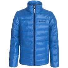 Columbia Sportswear Airspace Down Jacket (For Little and Big Kids) in Hyper Blue - Closeouts