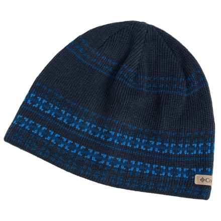Columbia Sportswear Alpine Action Omni-Heat® Beanie Hat (For Men and Women) in Collegiate Navy Geo Stripe - Closeouts