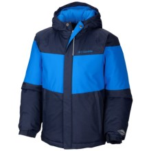 Columbia Sportswear Alpine Action Omni Heat® Jacket - Insulated (For Boys) in Collegiate Navy/Hyper Blue - Closeouts