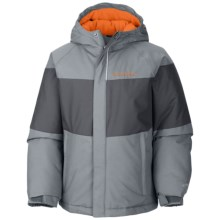 Columbia Sportswear Alpine Action Omni Heat® Jacket - Insulated (For Little and Big Boys) in Tradewinds Grey - Closeouts