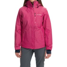 Columbia Sportswear Alpine Action Omni-Heat® Jacket - Insulated (For Women) in Ruby Red - Closeouts