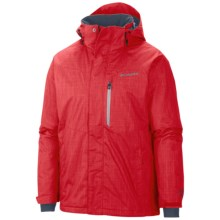 Columbia Sportswear Alpine Action Omni-Heat® Jacket - Waterproof, Insulated (For Men) in Bright Red - Closeouts