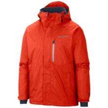 Columbia Sportswear Alpine Action Omni-Heat® Jacket - Waterproof, Insulated (For Men) in State Orange - Closeouts