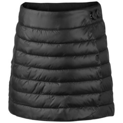 Columbia Sportswear Alpine Glow Wrap Skirt - Faux Down (For Girls) in Black