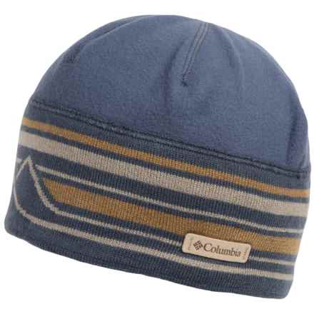 Columbia Sportswear Alpine Pass Beanie (For Men and Women) in Nocturnal Mtn Graphic - Closeouts