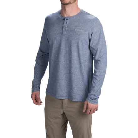 Columbia Sportswear Alpine Thistle Henley Shirt - Long Sleeve (For Men) in Carbon - Closeouts