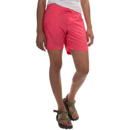 Columbia Sportswear Amberley Stream Shorts - Omni-Shield®, UPF 30 (For Women) in Bright Geranium - Closeouts