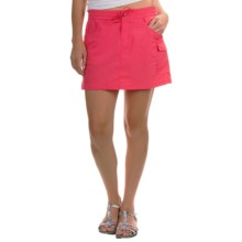 Columbia Sportswear Amberley Stream Skort - Omni-Shield®, UPF 30 (For Women) in Bright Geranium - Closeouts