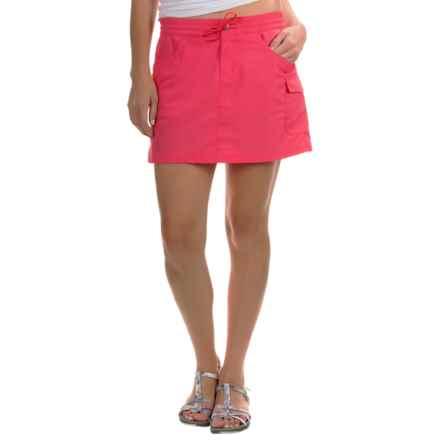 Columbia Sportswear Amberley Stream Skort - Omni-Shield®, UPF 30 (For Women) in Bright Geranium - Closeouts