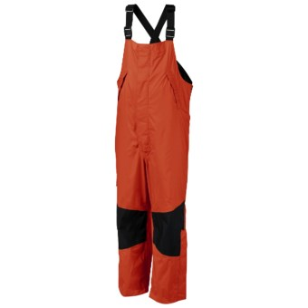 Columbia Sportswear American Angler PFG Bib Overalls - Waterproof (For Men) in Sail Red