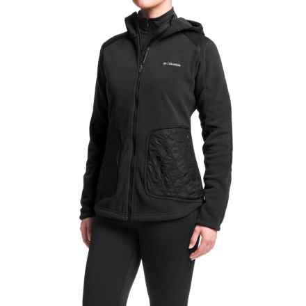 Columbia Sportswear Angels Crest Polartec® Fleece Jacket - Zip Front, Hooded (For Women) in Black - Closeouts