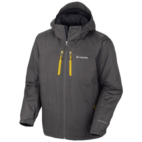 Columbia Sportswear Antimony III Jacket - Insulated (For Tall Men) in Grill