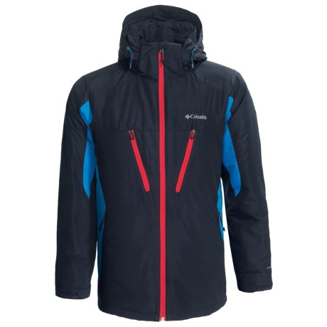 Columbia Sportswear Antimony IV Jacket - Omni-Shield®, Hooded (For Men) in Abyss