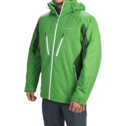 Columbia Sportswear Antimony IV Jacket - Omni-Shield®, Hooded (For Men) in Clean Green/Woodland