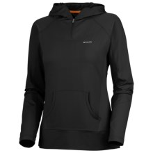 Columbia Sportswear Anytime Active Hoodie Sweatshirt - UPF 50, Zip Neck (For Women) in Black - Closeouts