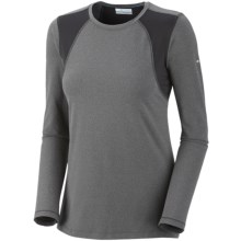 Columbia Sportswear Anytime Active Shirt - UPF 50+, Long Sleeve (For Women) in Coal Heather - Closeouts