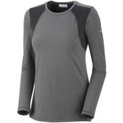 Columbia Sportswear Anytime Active Shirt - UPF 50+, Long Sleeve (For Women) in Coal Heather