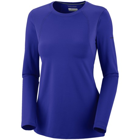 Columbia Sportswear Anytime Active Shirt - UPF 50+, Long Sleeve (For Women) in Light Grape