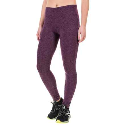 Columbia Sportswear Anytime Casual II Printed Leggings (For Women) in Dusty Purple Scratch Flowers - Closeouts