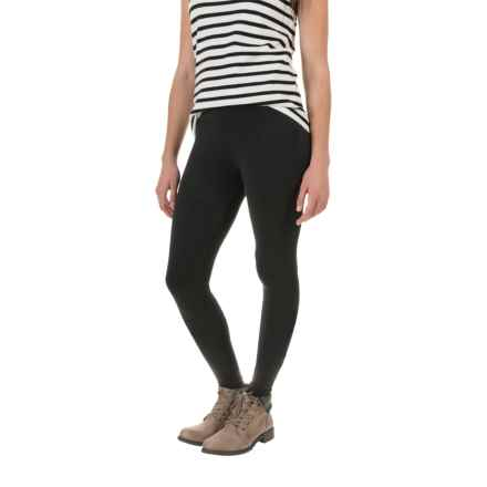Columbia Sportswear Anytime Casual Solid Leggings (For Women) in Black - Closeouts