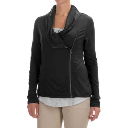 Columbia Sportswear Anytime Casual Zip-Up Jacket - Omni-Wick®, UPF 50 (For Women) in Black - Closeouts