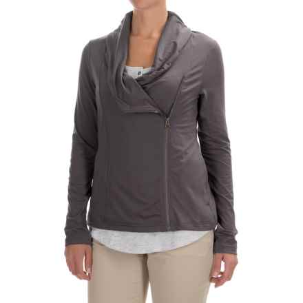 Columbia Sportswear Anytime Casual Zip-Up Jacket - Omni-Wick®, UPF 50 (For Women) in Pulse - Closeouts