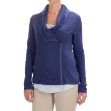 Columbia Sportswear Anytime Casual Zip-Up Jacket - Omni-Wick®, UPF 50 (For Women) in Skyward - Closeouts