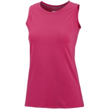 Columbia Sportswear Anytime Top - UPF 50, Sleeveless (For Plus Size Women) in Bright Rose - Closeouts