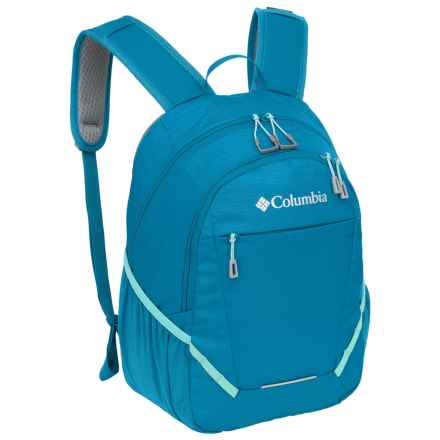 Columbia Sportswear Applegate Backpack (For Kids) in Compass Blue - Closeouts