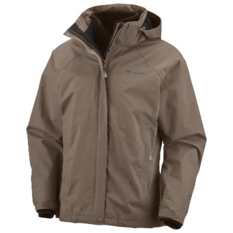 Columbia Sportswear Aravis II Parka - Waterproof, 3-in-1 (For Women) in Mud