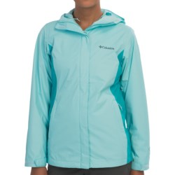 Columbia Sportswear Arcadia II Omni-Tech® Jacket - Waterproof (For Women) in Candy Mint/Geyser