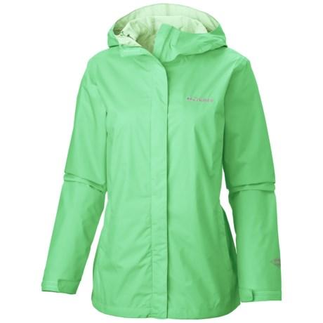 Columbia Sportswear Arcadia II Omni-Tech® Jacket - Waterproof (For Women) in Chameleon Green