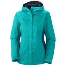 Columbia Sportswear Arcadia II Omni-Tech® Jacket - Waterproof (For Women) in Geyser/Siberia - Closeouts