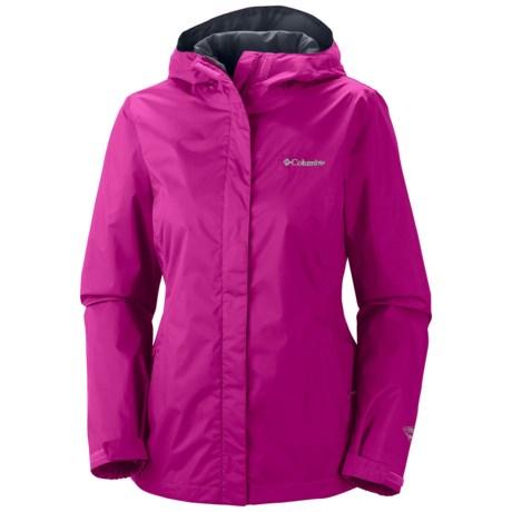 Columbia Sportswear Arcadia II Omni-Tech® Jacket - Waterproof (For Women) in Groovy Pink