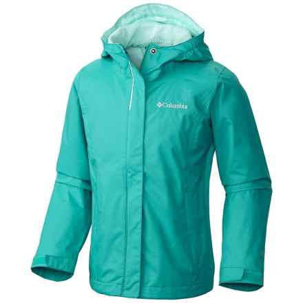Columbia Sportswear Arcadia Omni-Tech® Jacket - Waterproof (For Little and Big Girls) in Miami - Closeouts