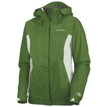 Columbia Sportswear Arcadia Rain Jacket - Waterproof, Hooded (For Women) in Hillside - Closeouts