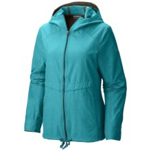 Columbia Sportswear Arch Cape III Jacket - UPF 15 (For Plus Size Women) in Geyser - Closeouts