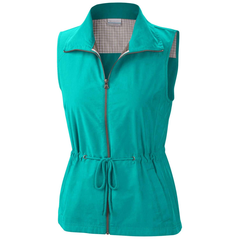 Columbia sportswear arch cape iii vest for women for Women s fishing vest