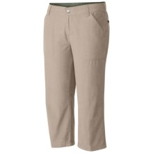 Columbia Sportswear Arch Cape Omni-Shade® Capris - UPF 15 (For Women) in Fossil - Closeouts