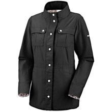 Columbia Sportswear Arch Cape Trench Jacket - UPF 15 (For Women) in Black - Closeouts