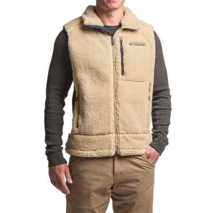Columbia Sportswear Archer Ridge Omni-Wind® Block Fleece Vest (For Men) in Sierra Tan - Closeouts