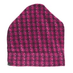 Columbia Sportswear Arctic Amour Printed Beanie Hat - Fleece (For Women) in Currant